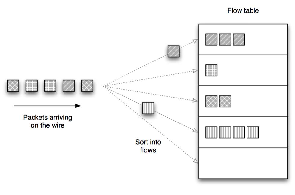 网络流捕获模型
